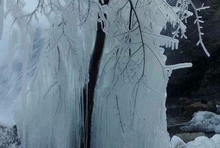 El chorro en Invierno